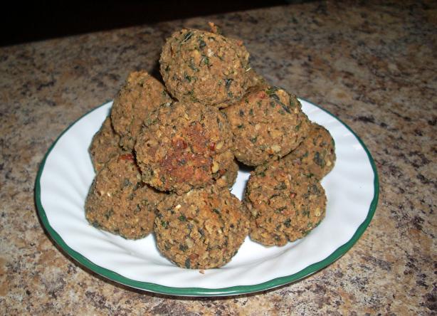 Seitan Meatballs