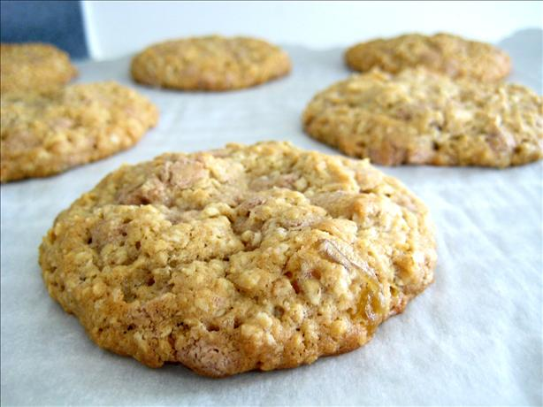 Fall Harvest Oatmeal Raisin Cookies