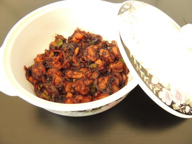 Chinese Chicken Manchurian