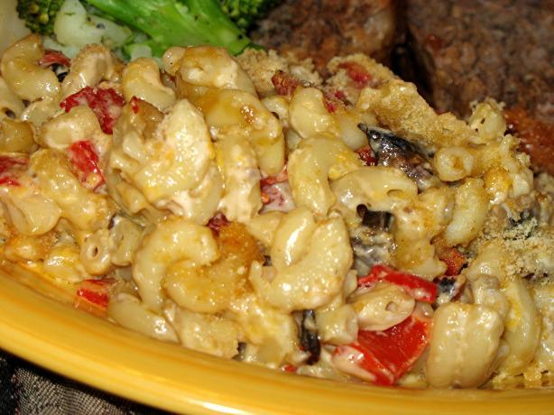 Mushroom Macaroni Casserole