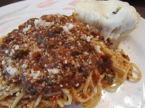 Babzy's Spaghetti Sauce