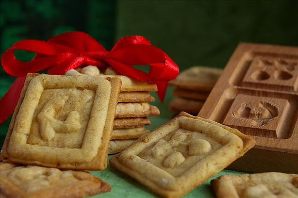 Ginger-Vanilla Christmas Cookies (Ingwer-Vanille-Spekulatius)