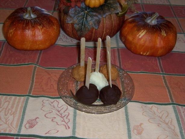 Cheesecake Lollipop Sticks