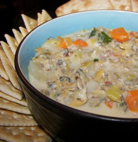 Chunky Vegetable Clam Chowder