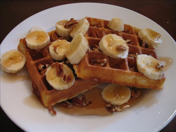 Crunchy Delicious Waffles