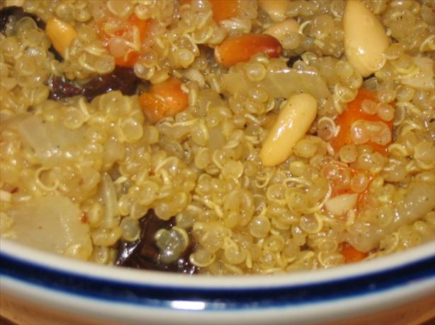 Quinoa Pilaf With Cardamom and Sage