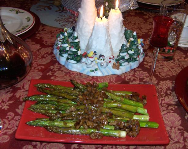 Walnut Orange Asparagus