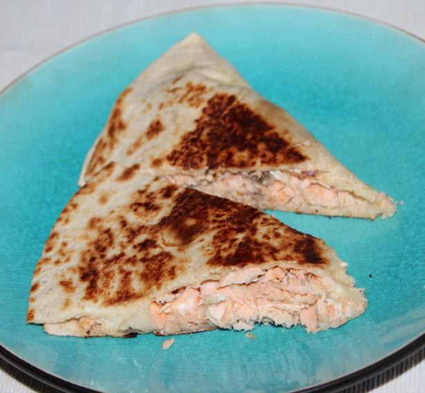 Salmon Quesadillas - Simple and Sooo Yummy!