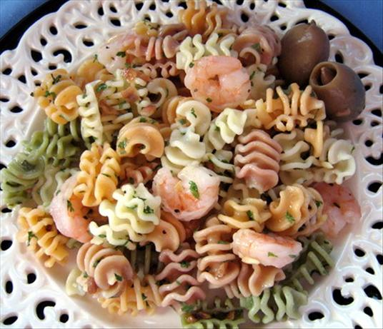 Rotini and Shrimp