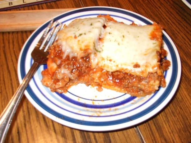 Extra Cheesy Lasagna for Roy