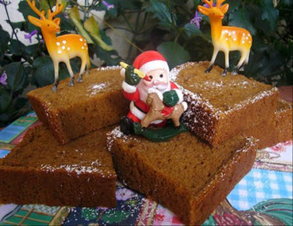 Gingerbread Chiffon Sponge Cake