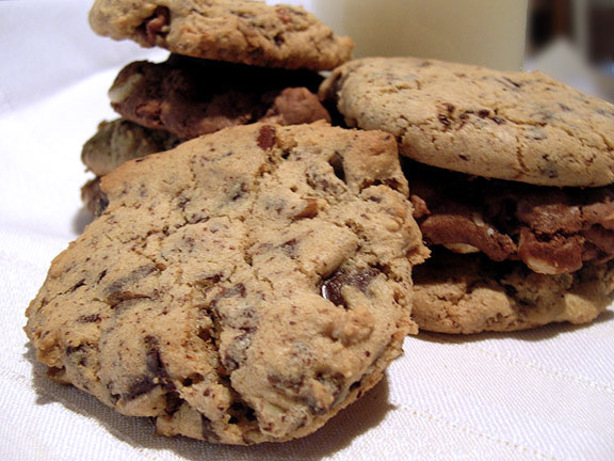 Kahlua-Chocolate Chip Cookies