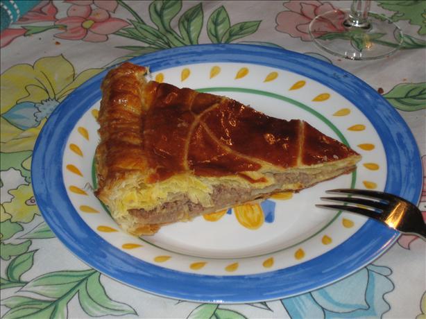 Galette Au Rhum Et Aux Dattes. Date/Rum Pie.