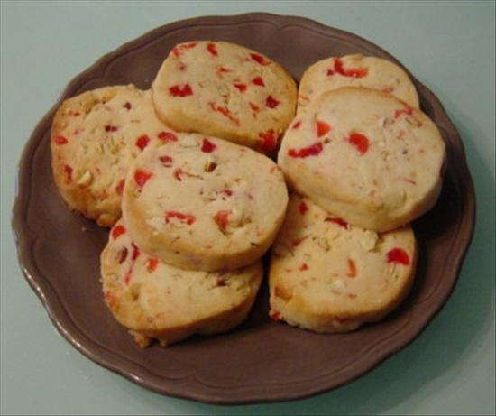Cherry Almond Butter Cookies