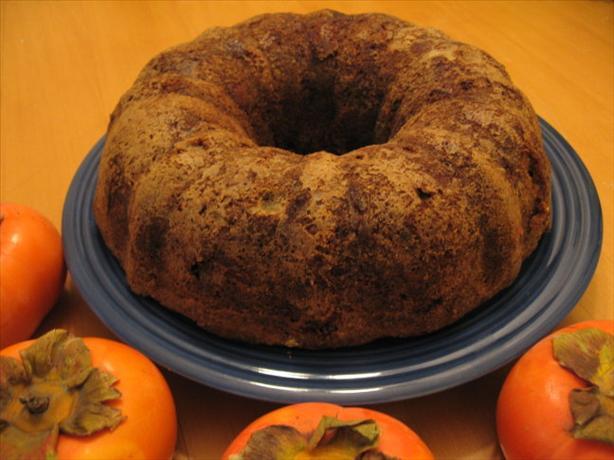 Fuyu Bundt Cake