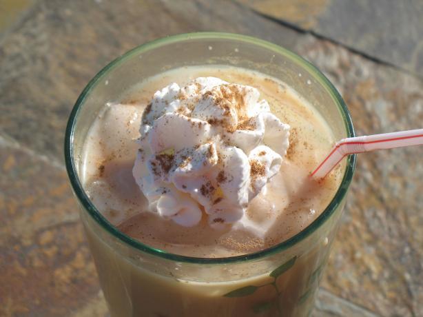 Iced Creamy Chai