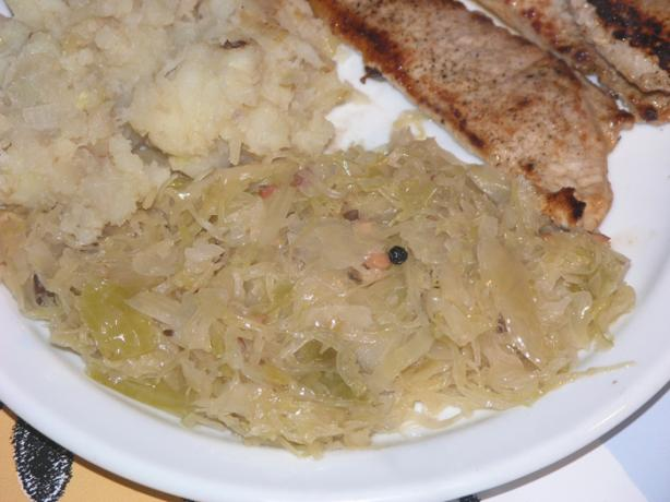 Sauerkraut, Croatian Way