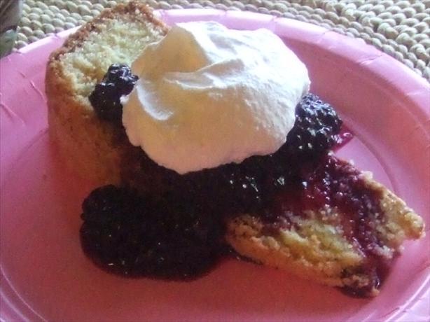 Brooke's Famous Polenta Pudding Cake