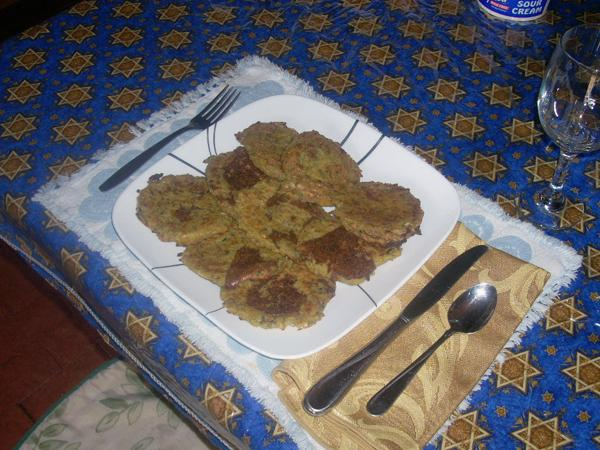 Dina's Baked Latkes