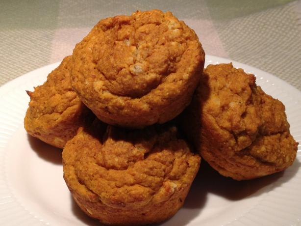Thanksgiving Leftover Sweet Potato Muffins