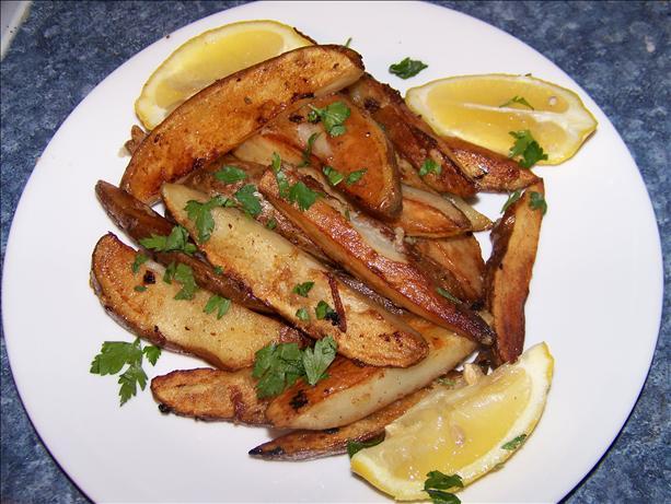 Greek-Style Garlic-Lemon Potatoes