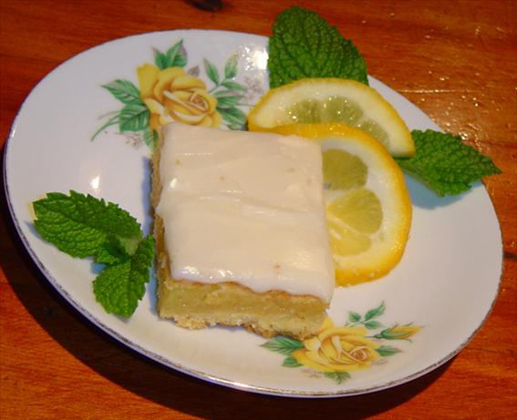 Megan's (Hush Hush) Lemon Bars
