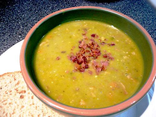 Swedish Green Split Peas With Bacon