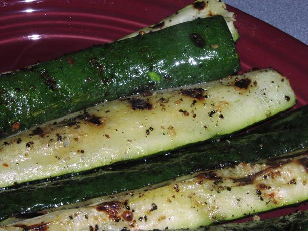 Uncle Ray's Grilled Zucchini