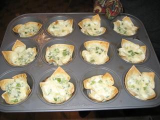 Our Thanksgiving Treat Baked Crab Rangoon
