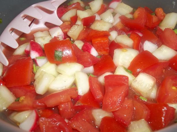 Fire & Ice Salad