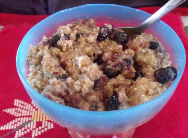 Apple Cider Spiced Oatmeal