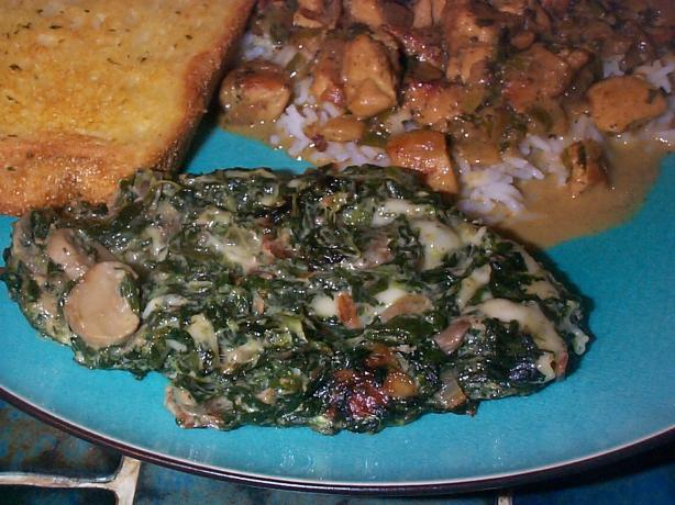 Threadgill's Spinach Casserole