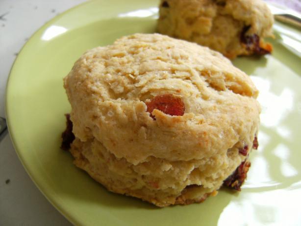 Cranberry Cornbread Scones