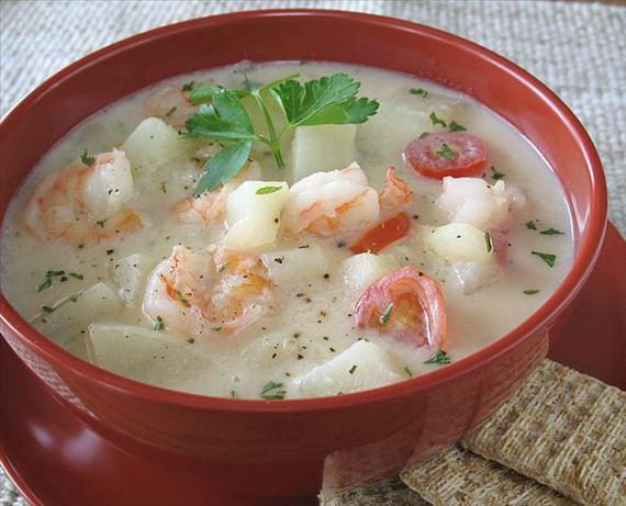 Shrimp Alfredo Chowder