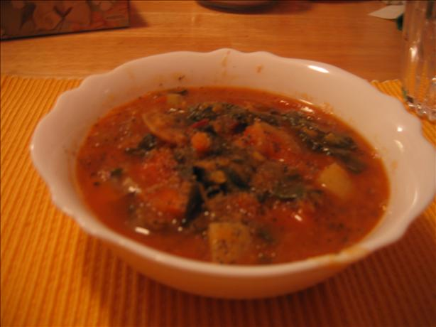 Lentil- Vegetable Soup