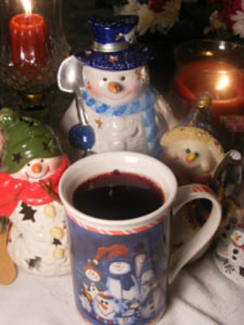 Hot Christmas Tea