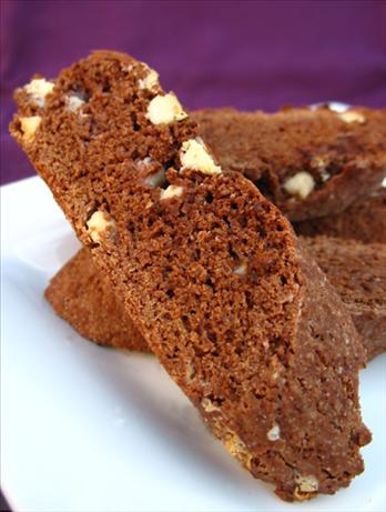 Authentic Chocolate Biscotti