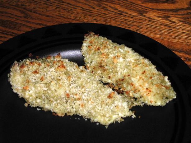 Pesto Panko Baked Fish