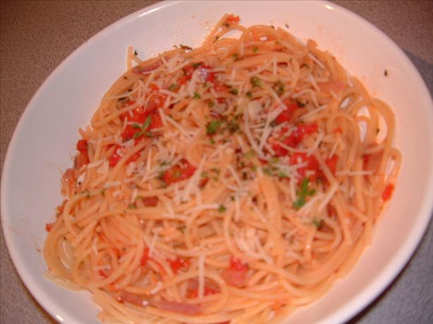 October Spaghetti