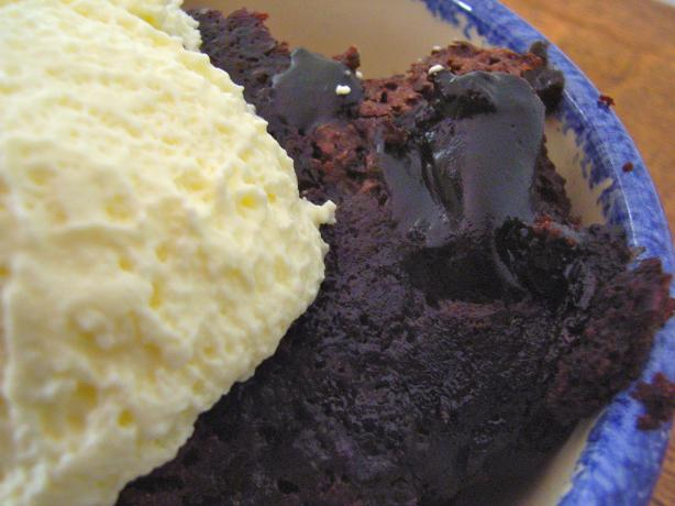 Easy Chocolate Sauce Cake