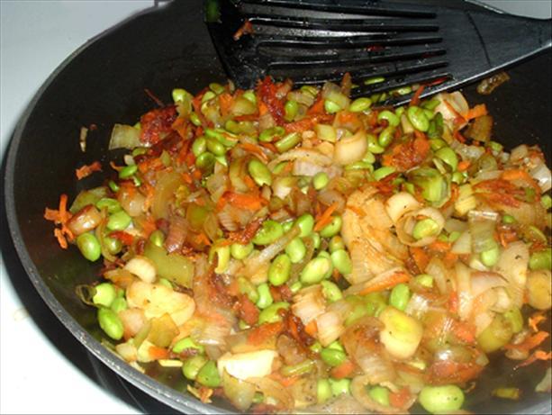 Soya Bean Stir Fry