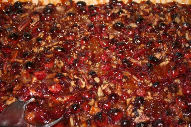Mr. Mudd's Cranberry Apple Bake