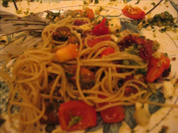 Mussel Pesto Puttanesca