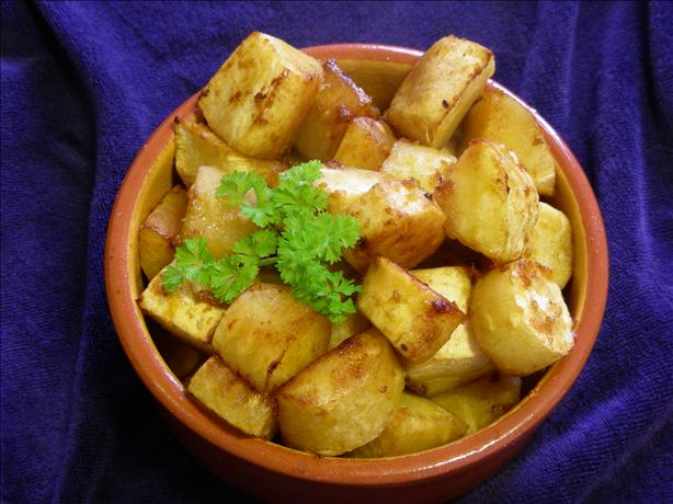 Roast Parsnips With Soy, Honey and Orange