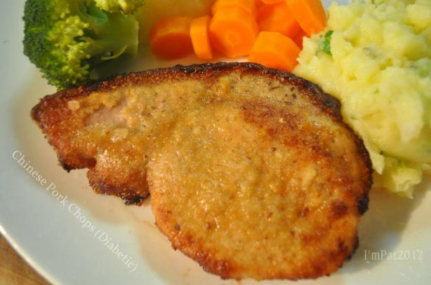 Chinese Pork Chops (Diabetic)