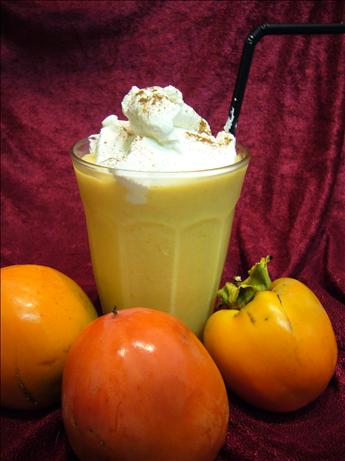 Judy Reynold's Persimmon Smoothie