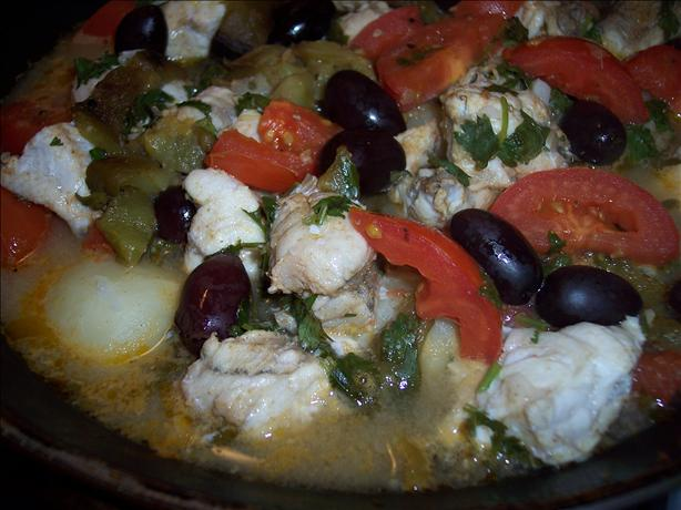 Tagine of Monkfish