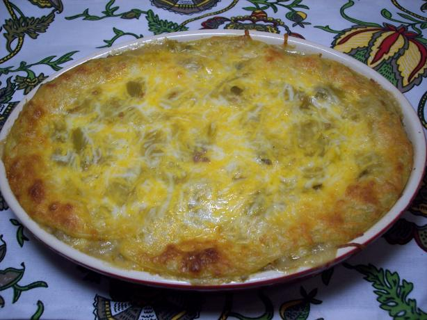 Mexican Lasagna Made With Corn Tortillas