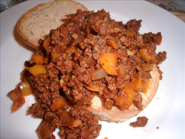 Sherri's Sweet 'n Spicy Sloppy Joes