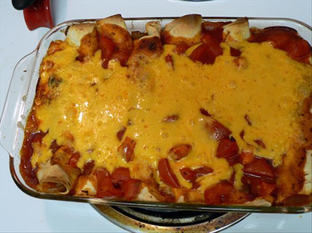 Portabella Enchiladas